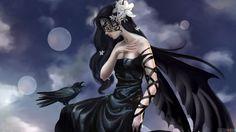 QuidsUp - mysterious_black_angel
