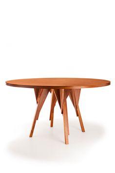 Rodésia table Mesa Rodésia Design Paulo Alves Photo Marcos Freire