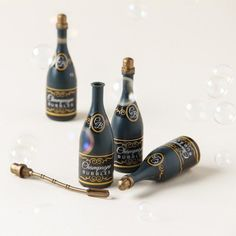 Toast the bride and groom with mini champagne bubbles!