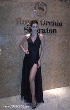 Dress from House of Narong (Bangkok) for Australian Ball