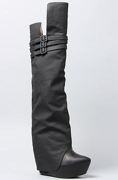 Jeffrey Campbell The Zealot Boot in Black : MissKL.com - Cutting Edge Women's Fashion, Accessories and Shoes.