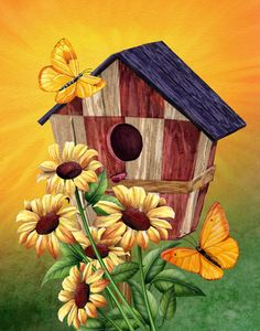 """Birdhouse II""  by Thomas Wood      Tom Wood is an extremely versatile and successful"