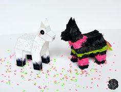 Paper Toy Crazy Piñata (DIY + Printable)