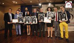 Entrega de los premios jóvenes 2015 a los talentos del ámbito deportivo, comunicación y espectáculo.