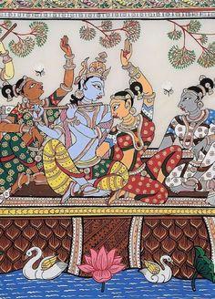 Mysore Painting, Kalamkari Painting, Kerala Mural Painting, Krishna Painting, Madhubani Painting, Pichwai Paintings, Indian Art Paintings, Shiva Art, Krishna Art