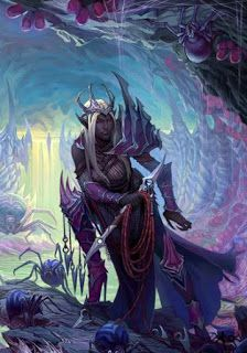 Power Score: Dungeons & Dragons - A Guide to the Drow Dark Fantasy, Fantasy Rpg, Elf Characters, Fantasy Characters, Character Portraits, Character Art, Drizzt Do Urden, Cool Monsters, Forgotten Realms