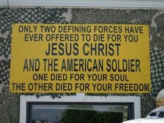THANK YOU JESUS!!!... THANK YOU UNITED STATES SOLDIERS ...WELOVE YOU ALL!