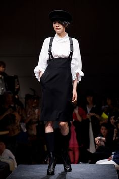 """picture of LIMI feu in Tokyo. """"Don't Want to Lose to Yohji Yamamoto"""" Fashion News, Latest Fashion, Womens Fashion, Limi Feu, Yohji Yamamoto, Japan Fashion, Attitude, My Style, Jackets"""