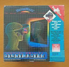 Victormaxx Virtual Reality Stuntmaster for Sega Genesis Super Nintendo