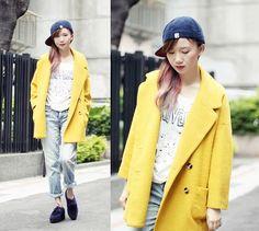 喜歡外套 可愛