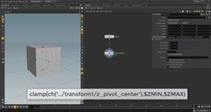 I have always been using the axis center tool in cinema 4D and wanted to have that control in Houdini with simple sliders as found in cinema 4D. So  in this video,i share it with you on how created simple sliders controlling pivot point in transform node.I hope you get something useful...
