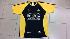 Camiseta de la 50 Behobia - San Sebastián 2014