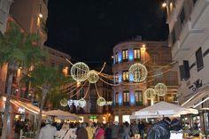 Fotos del Alumbrado de Navidad en Málaga 2013 - 2014 en Calle Larios, Plaza de la Constitucion, Plaza del Siglo, calle Granada...