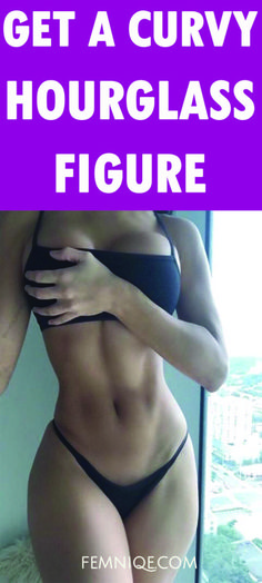 In order to look in the mirror and see an enviable hourglass frame with curves in all the right places, it's crucial to not only target your waist but your hips as well. And flattening your stomach…