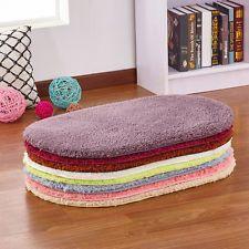 Soft Bath Bedroom Floor Shower Rug Yoga Plush Mat Rug Non-slip Home Decoration