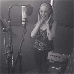 Candice Accola has major nostalgia, reminiscing about the recording studio where it all started for her.