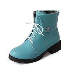 Women's Shoes Fashion Chunky Heel Ankle Boots More Colors available – USD $ 34.99