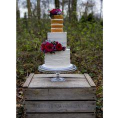 Yolk (@cakesby_yolk) • Instagram photos and videos Buttercream Cake, Beautiful Flowers, Wedding Cakes, Naked, Photo And Video, Baking, Videos, Photos, Instagram