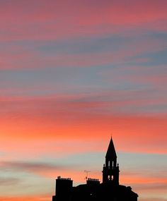 Here's another from a little further away from my gold coast home. Taken in Edinburgh the magnificent sunset cast a great silhouette of the building in front. Edinburgh Uk, Sunset Silhouette, Gold Coast, Nikon, United Kingdom, Scotland, My Photos, Travel Photography, It Cast