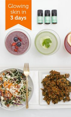 Glowing skin in just 3 days: organic juices, meals and snacks planned just for you by a dietician | Urban Remedy