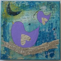 purple bird - Google Search