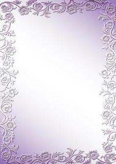 Rose Bordered Background Aqua on Craftsuprint designed by June Young - A… Scrapbook Background, Frame Background, Wedding Background, Paper Background, Background Patterns, Borders For Paper, Borders And Frames, Doodle Frames, Pink Themes