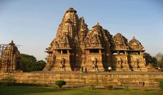Temple at Khajuraho which is the World UNESCO Heritage Site.
