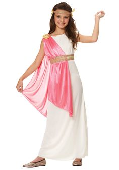 You'll be ancient royalty when you wear this ancient Roman empress girls costume. This ancient Roman empress girls costume is a great Roman costume for kids. Halloween Costume Accessories, Halloween Costumes For Girls, Halloween Fancy Dress, Costume Halloween, Girl Costumes, Roman Costumes, Greek Costumes, Costume Ideas, Toga Party Costume