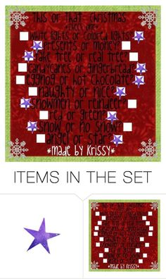 """""""This or That Christmas"""" by agirlthatfellinlovewithnumberten ❤ liked on Polyvore featuring art"""