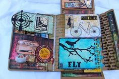 Mixed Media Workshop with Tim Holtz Collection Folio