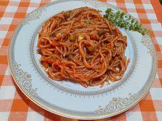 Retete cu margareta cismasiu: Spaghete cu legume Food And Drink, Ethnic Recipes