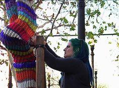 yarnbomb #crochet #art