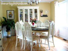 Dining Room Re-Invented - artsychicksrule.com