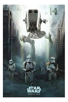 Star Wars Rogue One Stormtrooper Patrol Poster Gloss Laminated  915 x 61cms 36 x 24 Inches * Check out the image by visiting the link.
