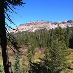 The high Sierras