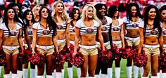 San Francisco 49ers Gold Rush Girls #Cheerleader team Picture