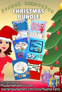Our latest product is a print and go French Immersion Elementary Vocabulary bundle set. This sets includes 60 pages of sentence builders, 48 task cards, 24 word wall words and 1 J'ai qui a loop game. For more information about our latest print and go product click...
