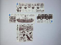 NaPOLI - skládačky v prodeji v papelote / www.papelote.cz / paper toys, illustration