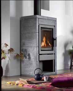 Vrijstaande haard Pellet Stove, Stove Oven, Hearth And Home, Fireplace Design, Building A House, Home Appliances, Contemporary, Fireplaces, Interior
