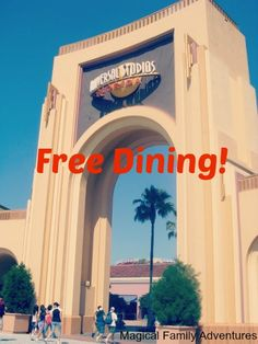 Enjoy Free Dining at Universal Studios Orlando! Find out how here: http://magicalfamilyadventures.com/free-dining-universal-studios-orlando/