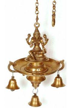 Lakshmi Hanging Bell Lamp