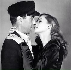 """No one has ever written a romance better than we lived it."" - Lauren Bacall"