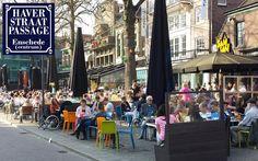 Eerste lentedag - Weer voor een terrasje en winkelen #Haverstraatpassage op onze #Koopavond #Enschede