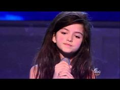 """Winner of Norway's Got Talent, 8-year-old Angelina Jordan, singing """"Fly me to the moon"""". Amazing!!!"""