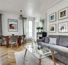 Un piso perfecto en París...