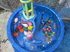 eater table sensory play ideas