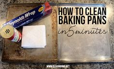 How To Clean Baking Sheets + Pans In 5 Minutes