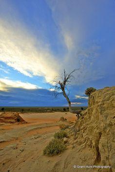 #351 - Sunset in Mungo NP, Mildura, NSW — in Mildura.
