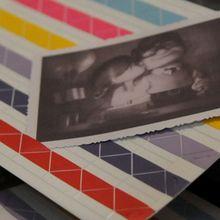 eBay | LOMO Album DIY 102 pieces Multi Color Adhesive Photo Corner Sticker Embalishment 2-3€ les 204