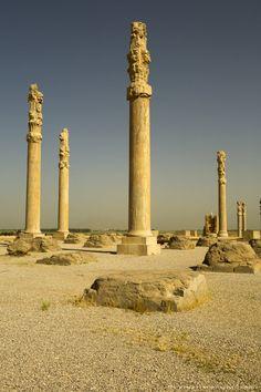 The Ancient Ruins of Persepolis, Iran